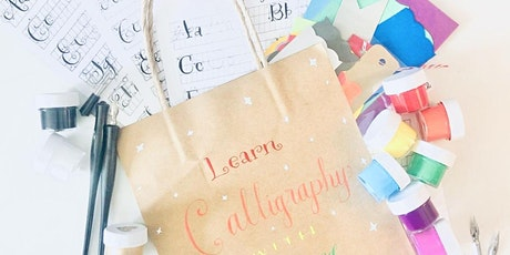 Portsmouth NH | Calligraphy Class for Beginners with Lettering By Liz tickets