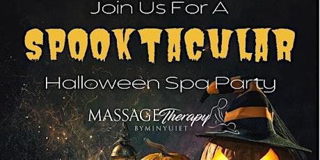 Spooktacular Halloween Spa Party tickets