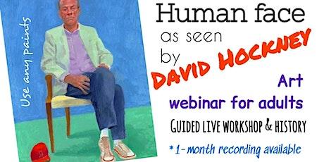 David Hockney - Online Art Class for Adults tickets