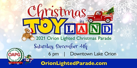Orion Lighted Parade Entrant tickets