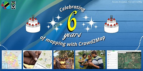 Crowd2Map is 6! Join our party mapathon to learn more about our work.. Tickets
