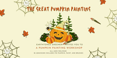 The Great Pumpkin Painting Class tickets