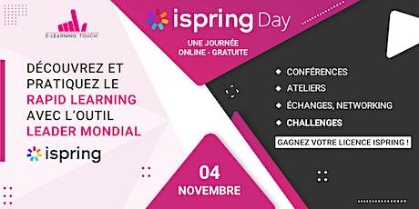 iSpring Day Digital 2021 et Challenge de création de module entradas