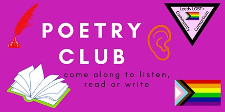 LGBT+ Poetry Club - October tickets