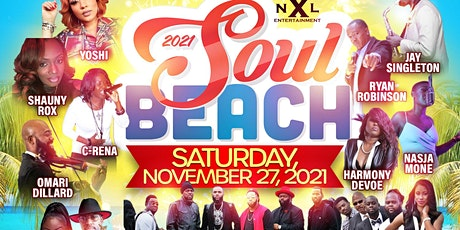 Soul Beach 2021: The Outdoor R&b / Jazz Concert & Comedy on the Water tickets