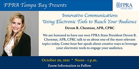 Innovative Communications Using Electronic Tools to Reach Your Audience tickets