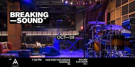 Breaking Sound Nashville feat. Maria Shockey, Cameron Lee + more tickets