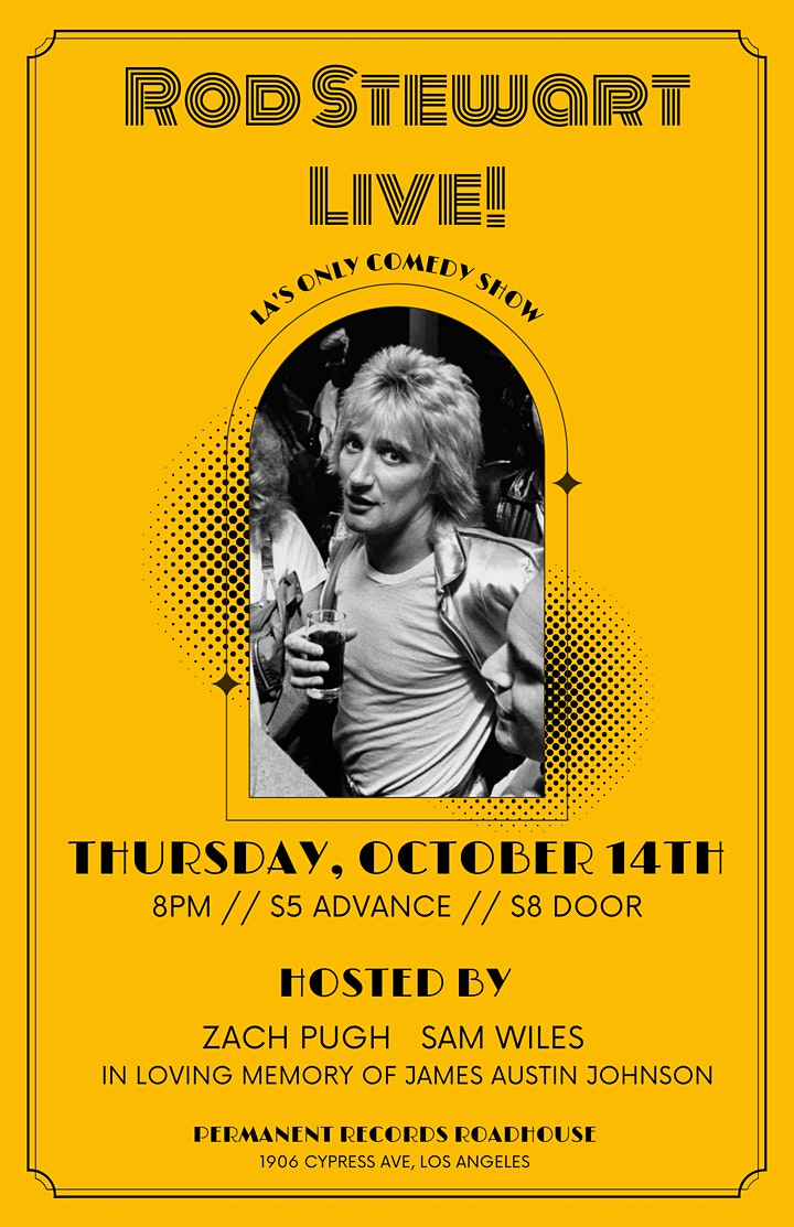 Rod Stewart Live! 10/14 image