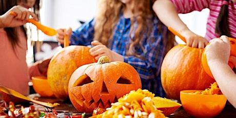 Kids Pumpkin Decorating & Pizza Making Class tickets