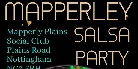 Nottingham Mapperley Salsa Party tickets