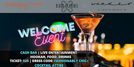 Welcome Event entradas