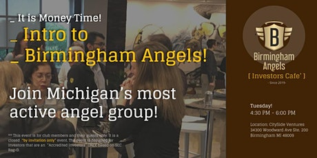 Introduction to Birmingham Angels ! tickets