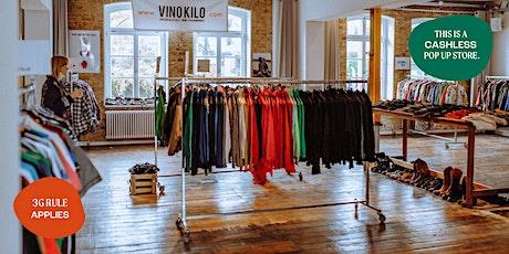Vintage Kilo Pop Up Store • Munich  • Vinokilo Tickets