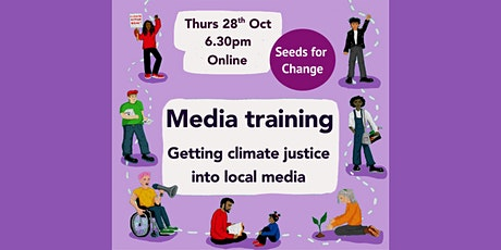 Media training: getting climate justice into local media tickets