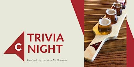 Oct 27: Trivia Night at Cardinal Brewing tickets
