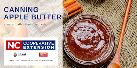 Canning Apple Butter tickets