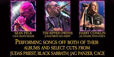 The Three Tremors (Featuring Tim Ripper Owens) tickets