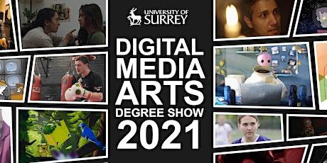 Digital Media Arts Degree Show 2021(Reprise) tickets