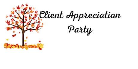 Client Appreciation Party!! tickets
