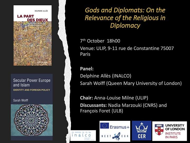 Image pour Gods and Diplomats: On the Relevance of the Religious in Diplomacy
