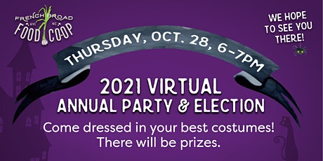 French Broad Food Co+op Annual Party & Election tickets