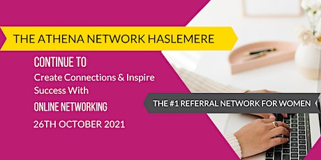 The Athena Network: Haslemere Group - Guest Speaker Alice Nichol tickets