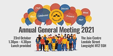 GMTU Annual General Meeting 2021 tickets