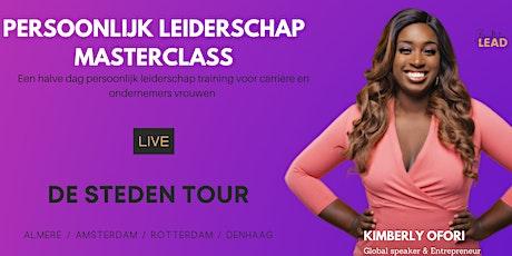Amsterdam - Masterclass Persoonlijk leiderschap tickets