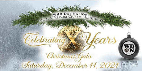 Who Dat Nation 10th Annual Christmas Gala tickets