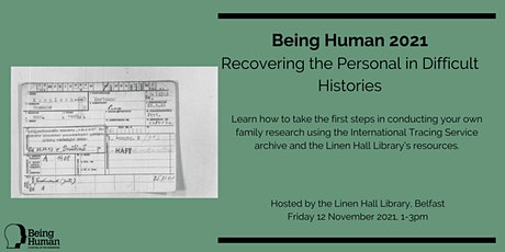 Being Human 2021 –  A Family Research Workshop tickets