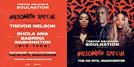 Trevor Nelson's Soul Nation Halloween Special tickets
