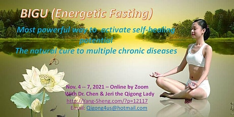 The 4-Day Online Qigong Fasting (Bigu) Workshop with Dr. Chen in November tickets