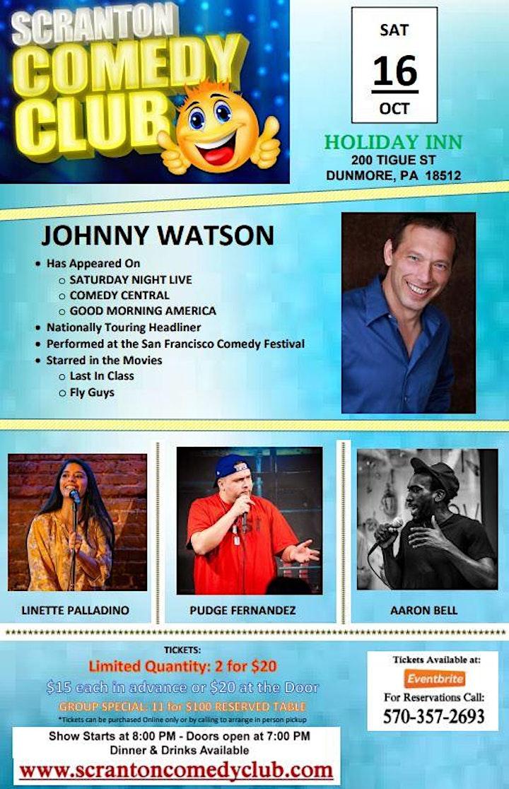 Scranton Comedy Club Sat Oct 16th  - SHOW POSTPONED to Dec 18th image