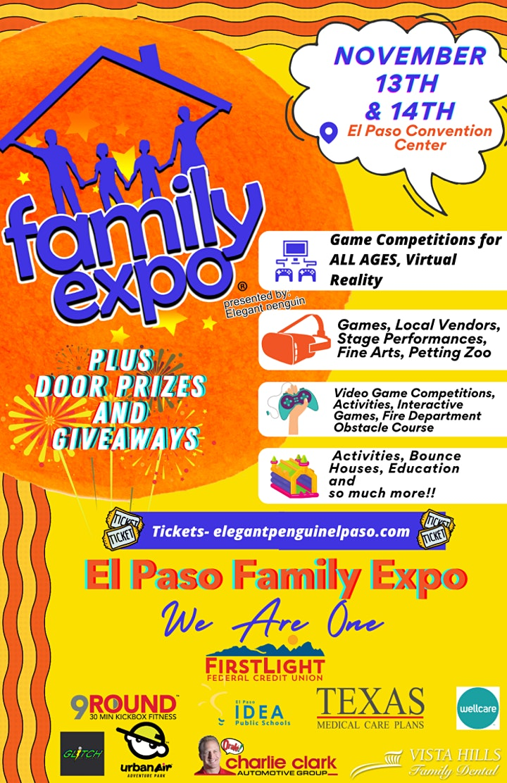 """El Paso Family Expo """"We Are One""""! image"""