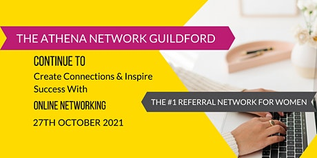 The Athena Network: Guildford Group - Guest Speaker Linda Huckle tickets