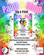 Paint & Shop with The Naked Artist tickets