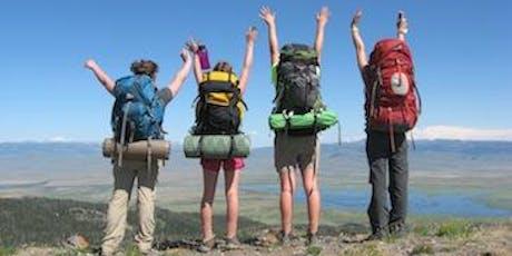 Girl Scout Backpacking Interest Group - Beginner (New Member) Training 2 tickets