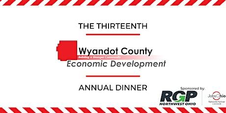 Wyandot County Economic Development 13th Annual Dinner tickets