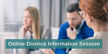 Divorce Information Session tickets