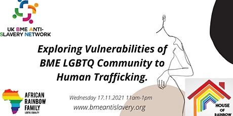Exploring Vulnerabilities of BME LGBTQ Community to Human Trafficking billets