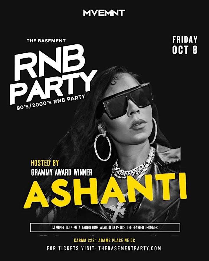 ASHANTI & LLOYD Host The Basement RNB Party | A 90's/2000's RNB Dance Party image