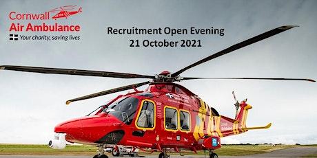 Cornwall Air Ambulance Trust Recruitment Open Evening tickets
