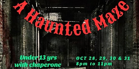 A Haunted Maze tickets