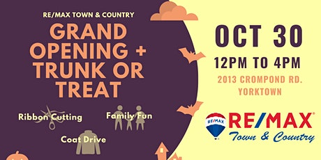 Grand Opening Trunk or Treat tickets
