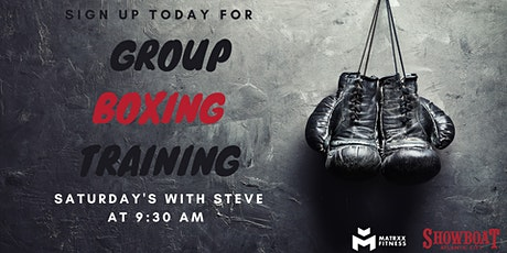 Free Boxing Fitness Class tickets