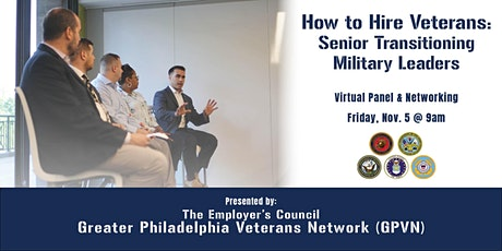 How to Hire Veterans: Senior Transitioning Military Leaders tickets