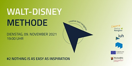 #2 Nothing is as easy as inspiration - Walt-Disney-Methode Tickets