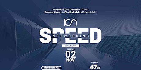 KCN Speed Networking Online Zona Centro 02 NOV entradas