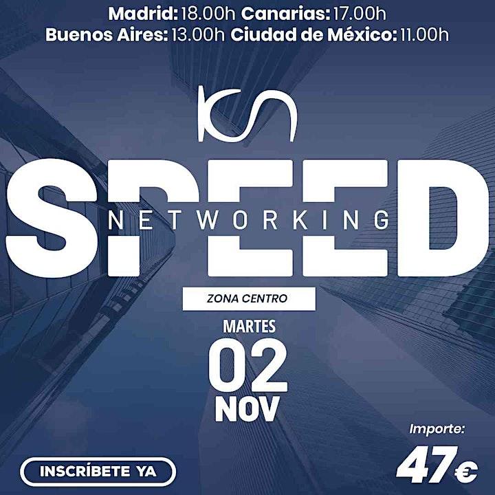Imagen de KCN Speed Networking Online Zona Centro 02 NOV