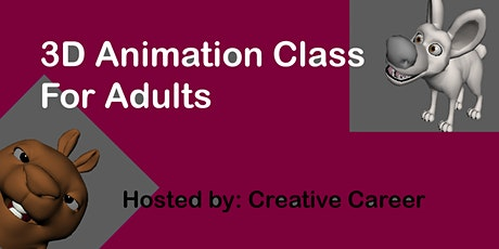 3D Animation Workshop tickets
